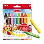Crayons Case Bruynzeel, 8 colors
