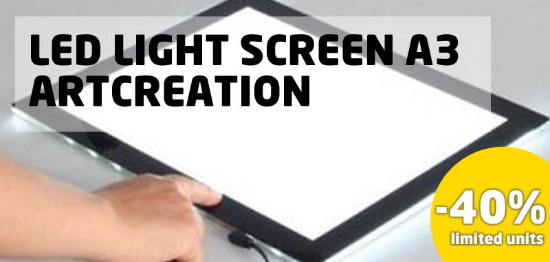 Led Light Screen A3 ArtCreation