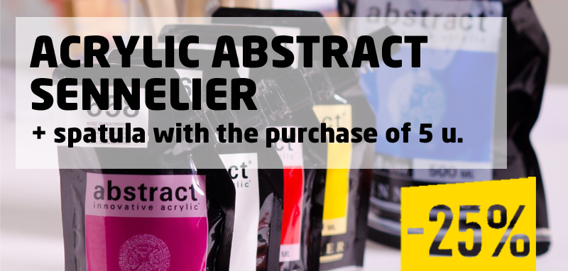 Acrylic Abstract Sennelier -25%