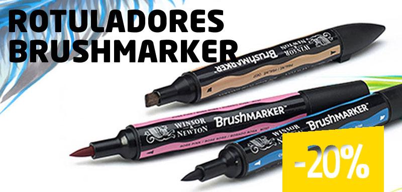 Rotuladores Brushmarker