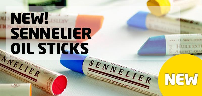 New Oil Sticks Sennelier